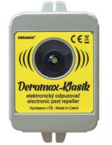 Ultrazvukový odpuzovač kun Deramax Klasik