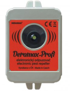 Ultrazvukový odpuzovač kun Deramax Profi